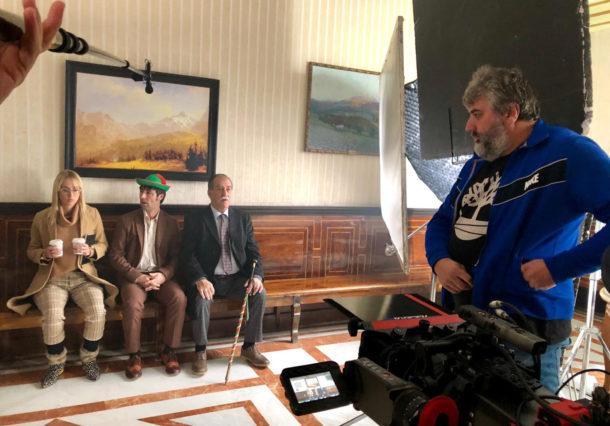 """Vitoria-Gasteiz vuelve a ser escenario de cine con """"La pequeña Suiza"""""""