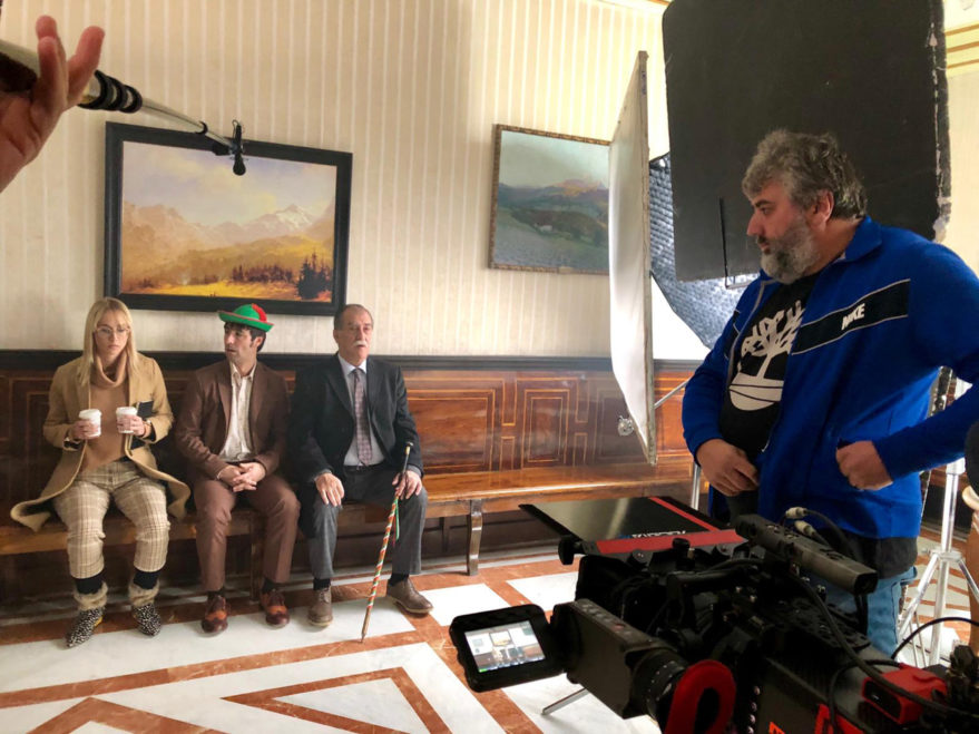 Grabación en la Casa Consistorial de Vitoria-Gasteiz