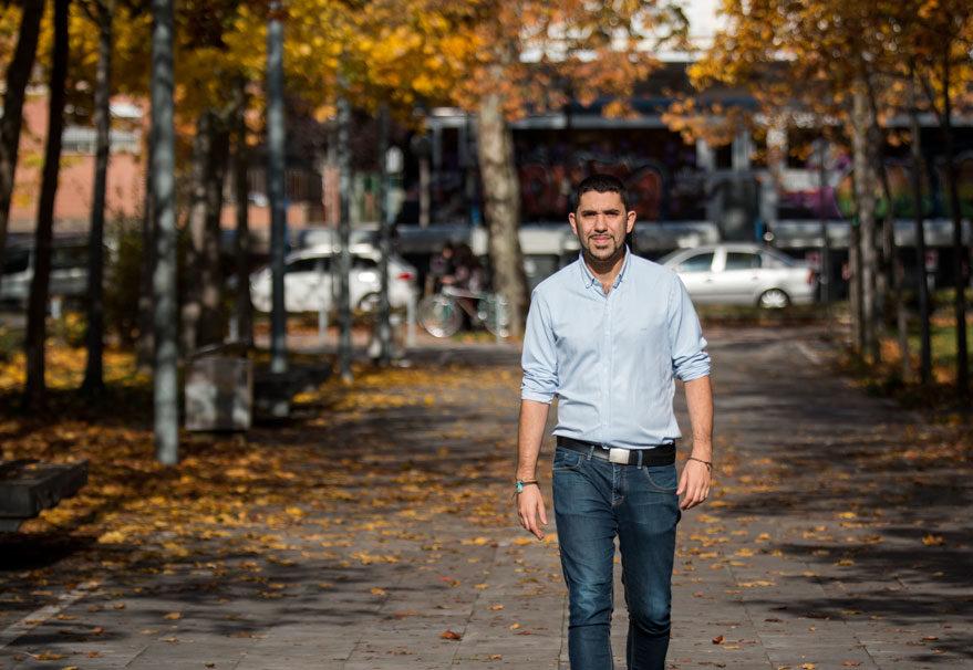Oscar Fernandez candidato Equo-Berdeak Vitoria