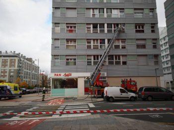 Incendios sin heridos en viviendas de Bulevar de Salburua y de la calle Hortaleza
