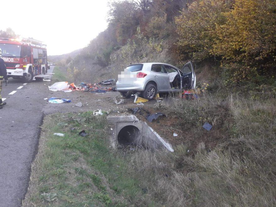 accidente a132 maeztu