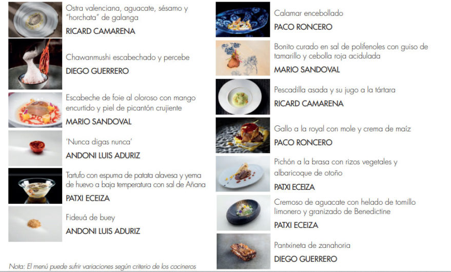 menu restaurante zaldiaran