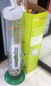 contenedor reciclaje pilas