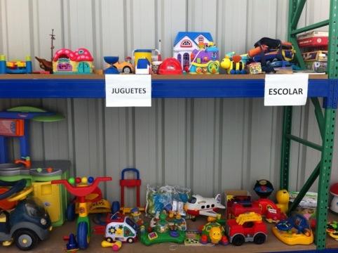 Reutilizagune: juguetes, muebles y aparatos electrónicos con una segunda vida