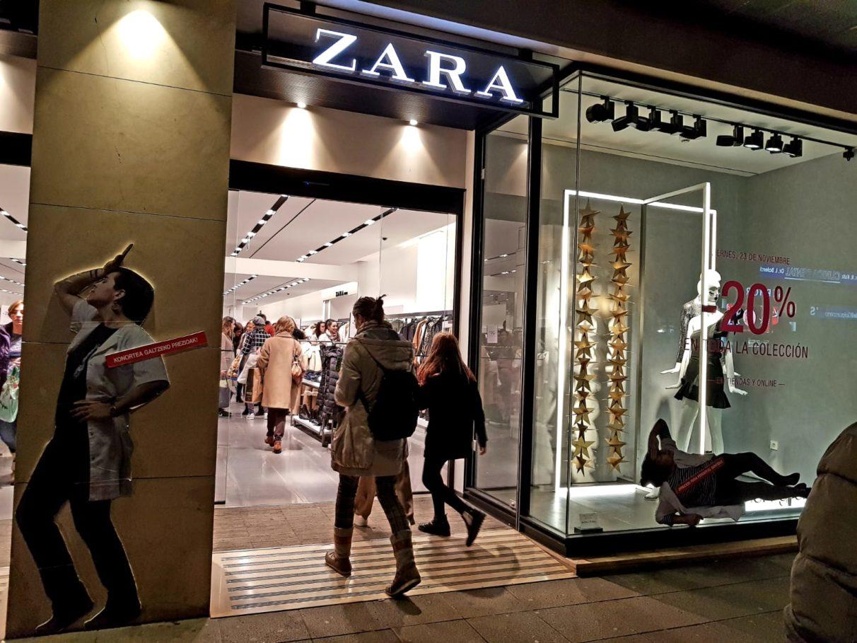 precios para perder el sentido zara