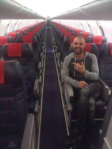 Único pasajero vuelo Foronda-Ibiza