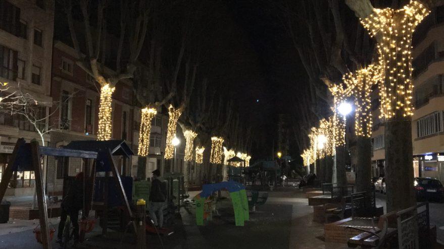 luces arboles navidad vitoria