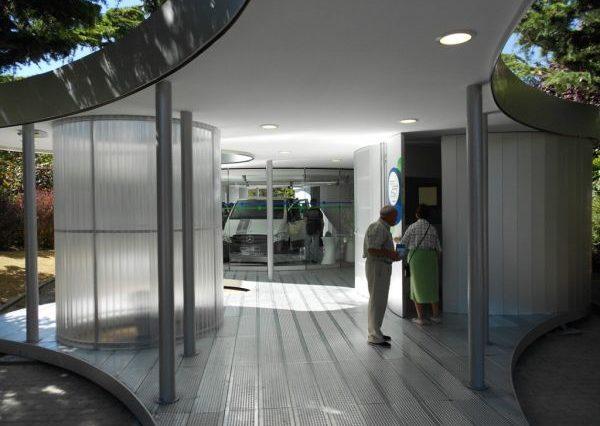El edificio del vehículo eléctrico en José Mardones se traslada a Olarizu