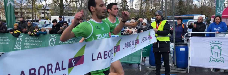 VÍDEO: Vitoria-Gasteiz disfruta de una Media Maratón con final de foto-finish