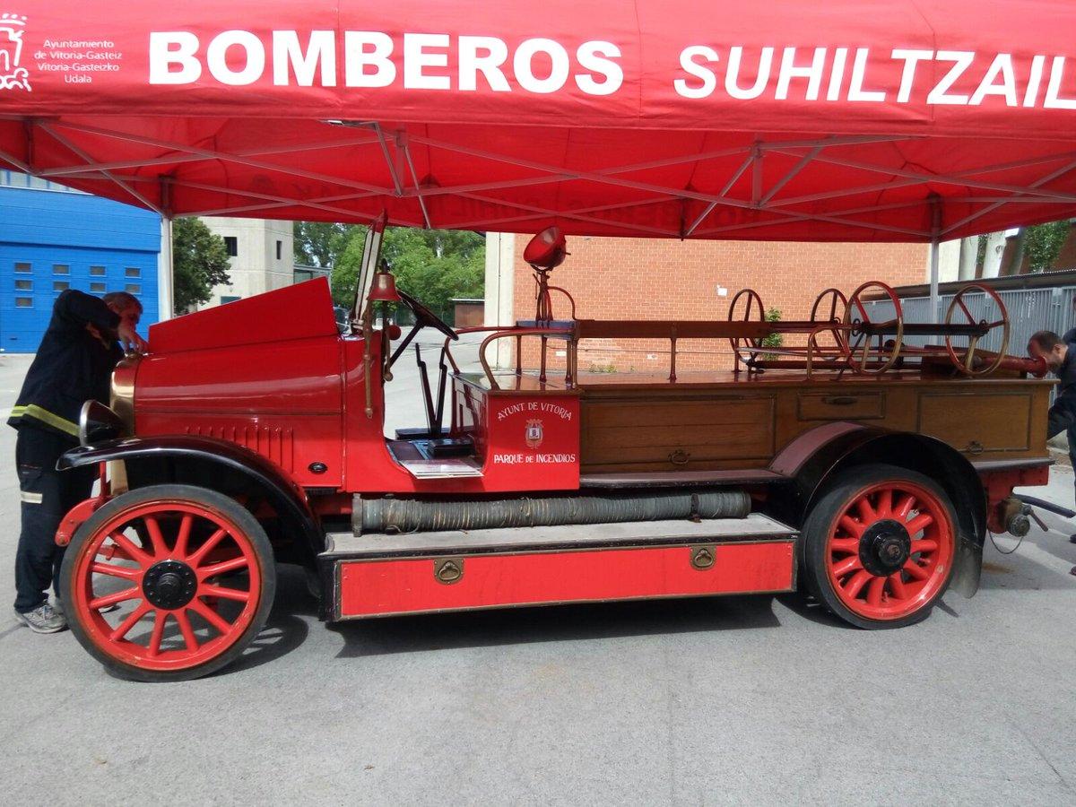 Magirus de 1927 propiedad de los bomberos de Vitoria-Gasteiz