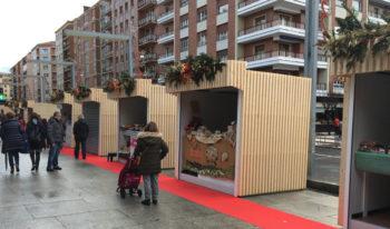 mercado de navidad Vitoria