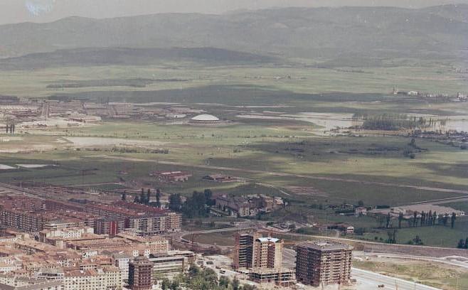 plaza del ganado pabellon araba