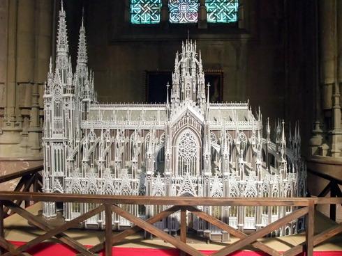 maqueta catedral nueva