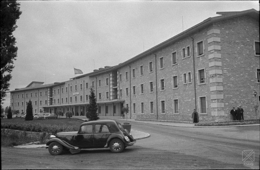 Residencia Arana, 27 de mayo de 1958. ARQUÉ. Archivo Municipal de Vitoria.