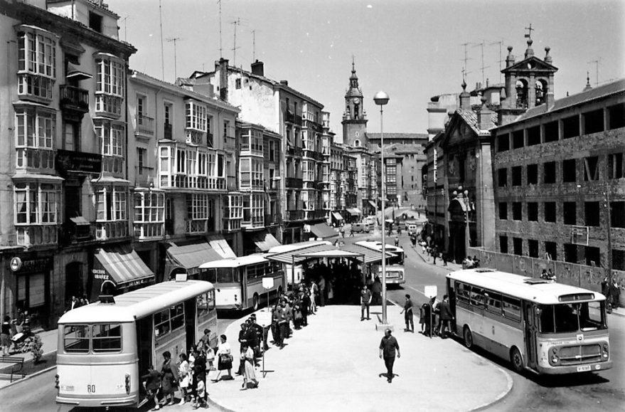 Plaza del General Loma en 1964. Fondo Schommer, ATHA.