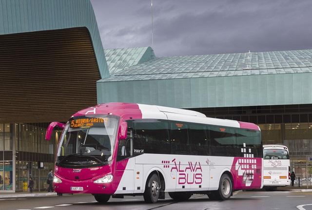 Autobuses pueblos Álava
