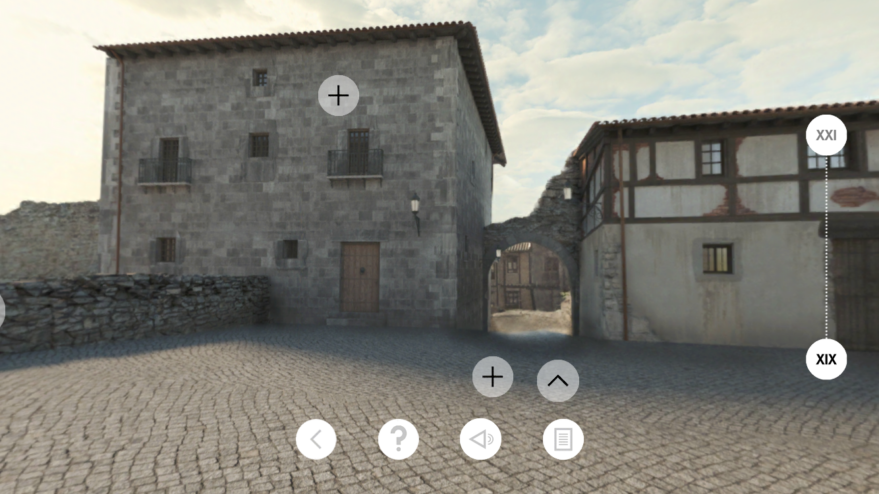 App Vitoria 1850 realidad virtual