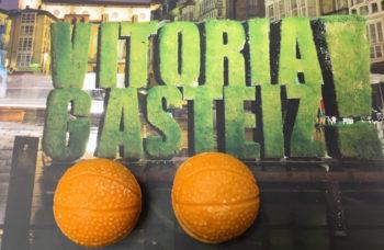 Vitoria-Gasteiz presenta un bombón con forma de balón
