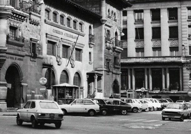 FOTOS: el centro de Vitoria-Gasteiz antes de su peatonalización
