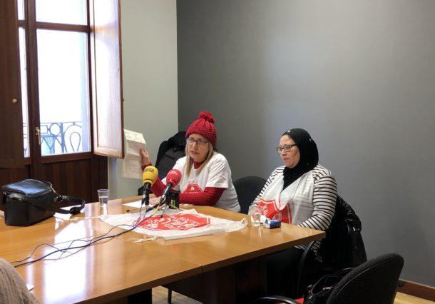 Kaleratzeak Stop denuncia el desahucio de una mujer y su hijo, víctimas de violencia de género