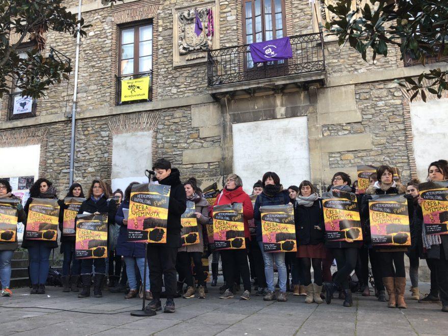 """Resultado de imagen de Concentraciones feministas en Vitoria 2019"""""""