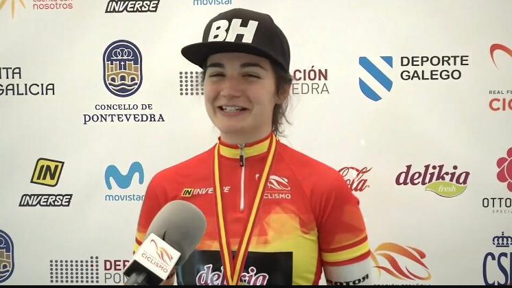 Luisa Ibarrola gana el campeonato de España de ciclocross sub 23