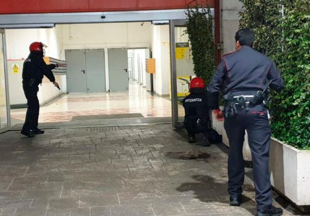 Vitoria-Gasteiz realiza un simulacro de gran atentado