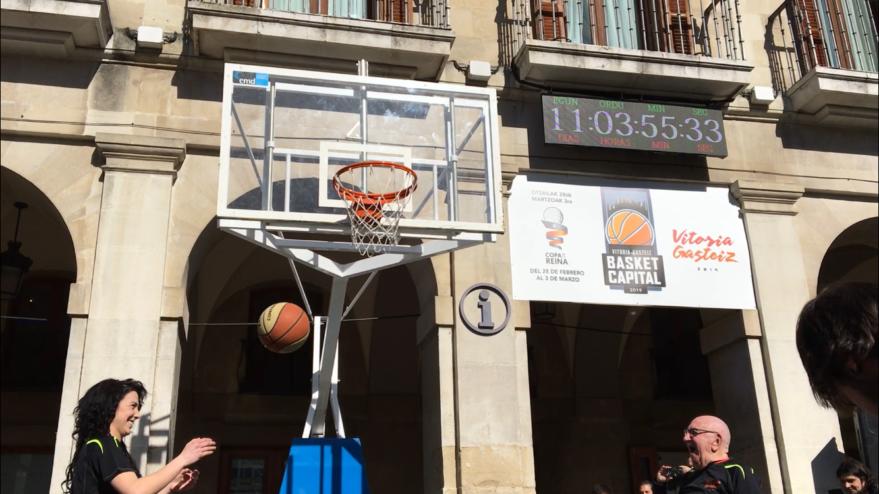 Vitoria-Gasteiz inicia la cuenta atrás como 'Basket Capital'