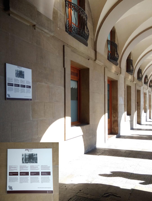 Placas conmemorativas-Vitoria-Historia-Avión