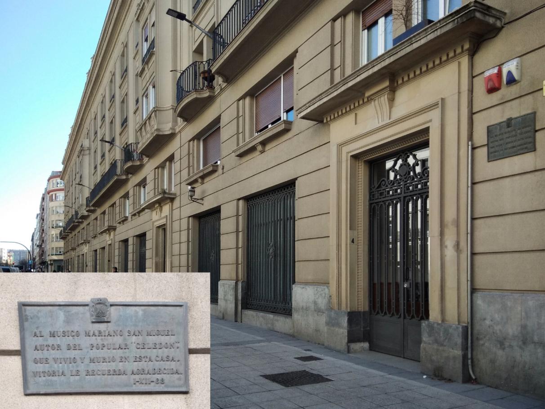 Placas conmemorativas-Vitoria-Historia- San Miguel