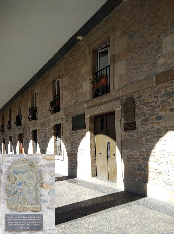 Placas conmemorativas-Vitoria-Historia -Sebastian Iradier