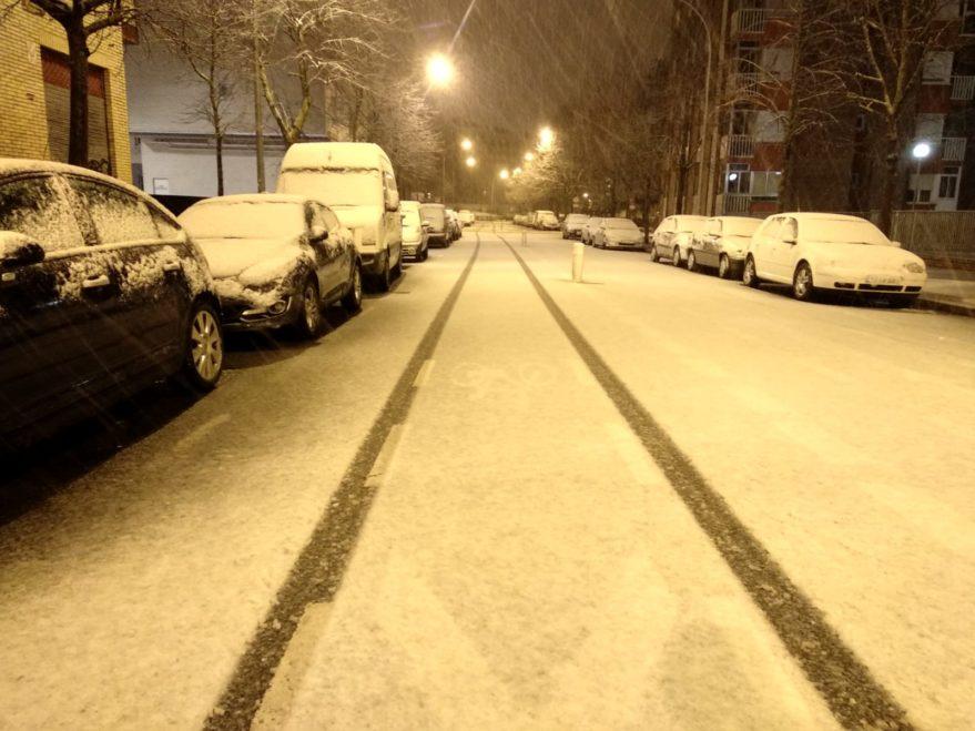 nieve febrero vitoria