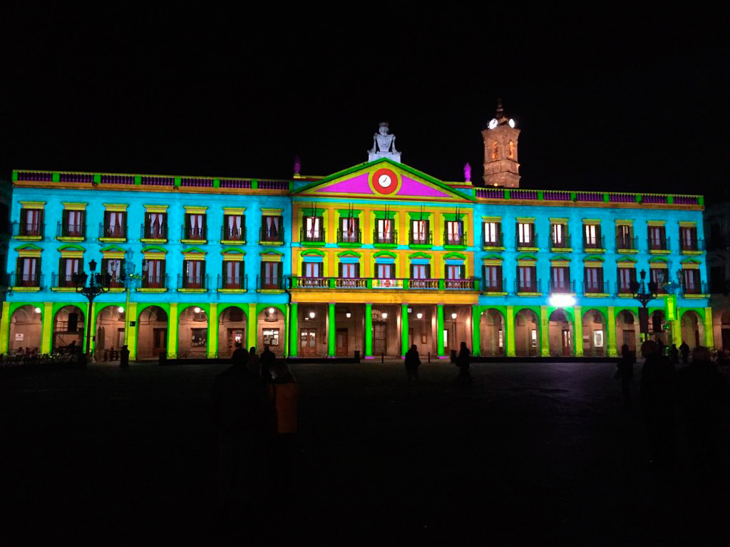 """El Palacio Foral se """"enciende"""" este domingo para anunciar el festival de luz Umbra - Gasteiz Hoy"""
