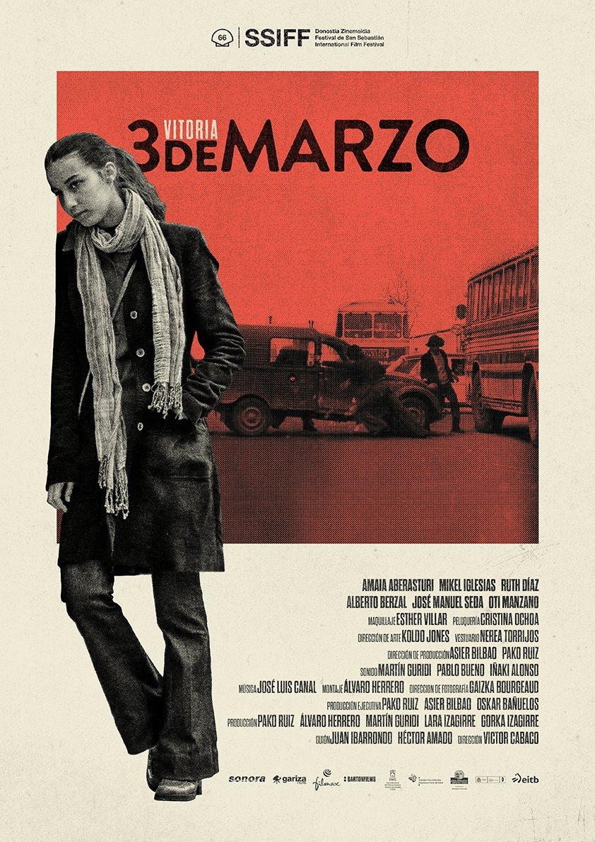 estreno pelicula 3 de marzo