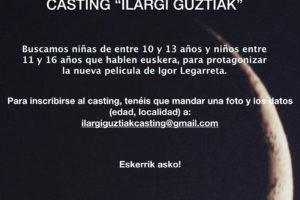 Casting para una película: se buscan niños y niñas entre 10 y 16 años