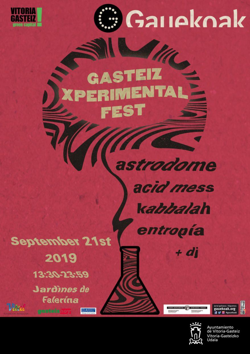 Gasteiz Experimental Fest @ Jardín de Falerina