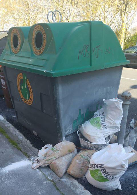 basura escombros ariznabarra