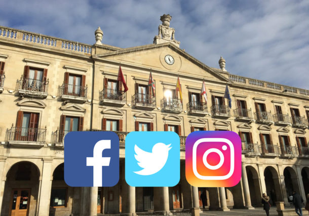 ¿Cuántos seguidores y fans tienen en redes sociales los candidatos en Vitoria y Álava?