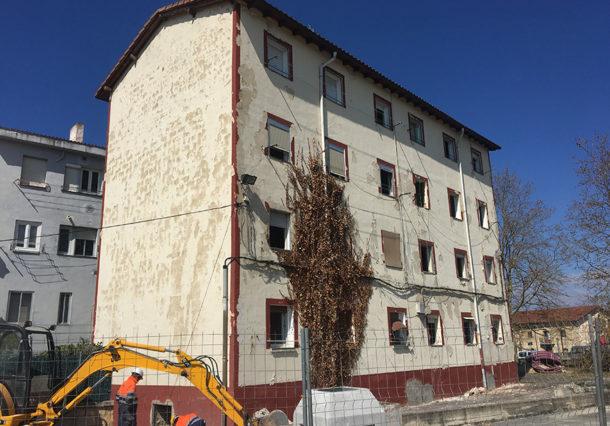Aretxabaleta tendrá pisos de alquiler social sobre los edificios derribados