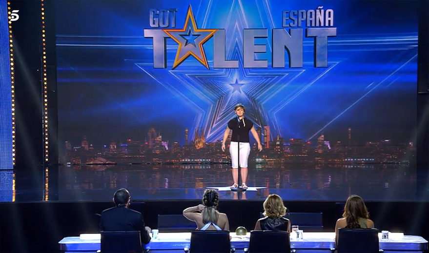 estibaliz participó en Got Talent