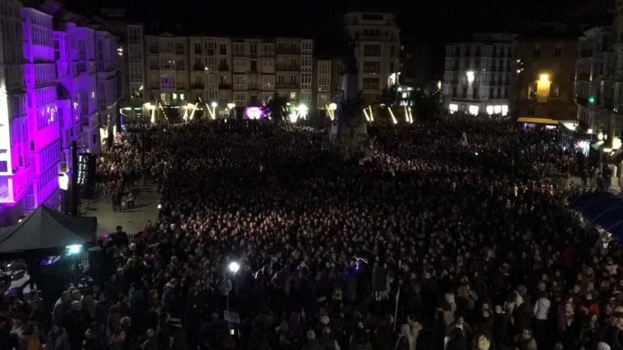 Una marea feminista sale a las calles de Vitoria-Gasteiz