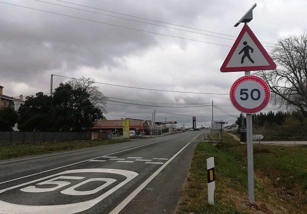Laguardia estrena nuevas señales de control del tráfico tras dos atropellos mortales