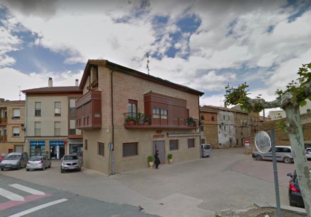 Un motorista fallece tras salirse de la calzada en Lanciego