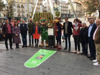 Tiros libres en las papeleras de Vitoria-Gasteiz