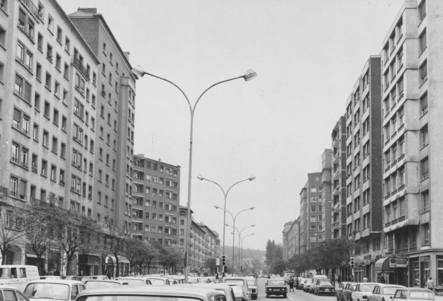 1979 virgen blanca fachadas campaña electoral