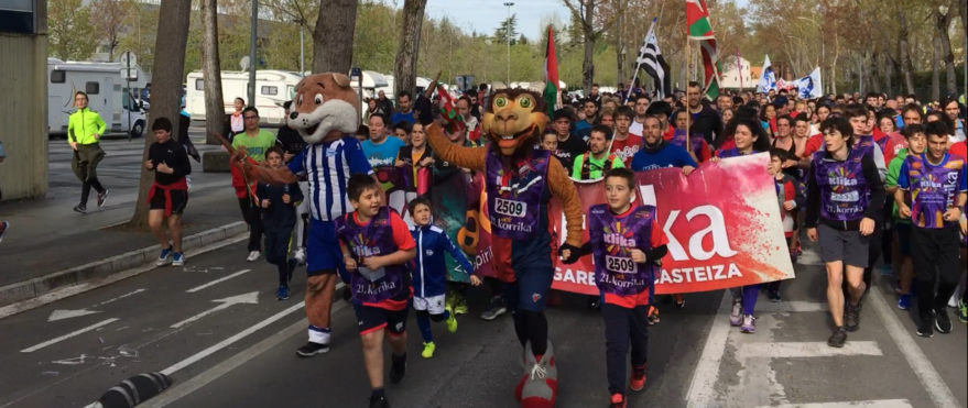 Korrika 2019 concluye en Vitoria-Gasteiz con una gran fiesta