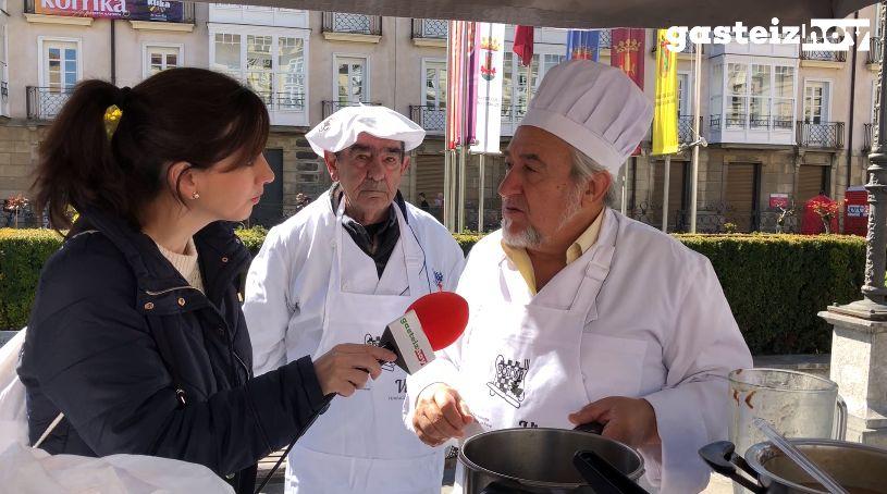San Prudencio arranca con el Concurso Gastronómico y el Fanfarre Eguna