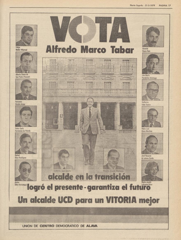 1979 elecciones municipales vitoria