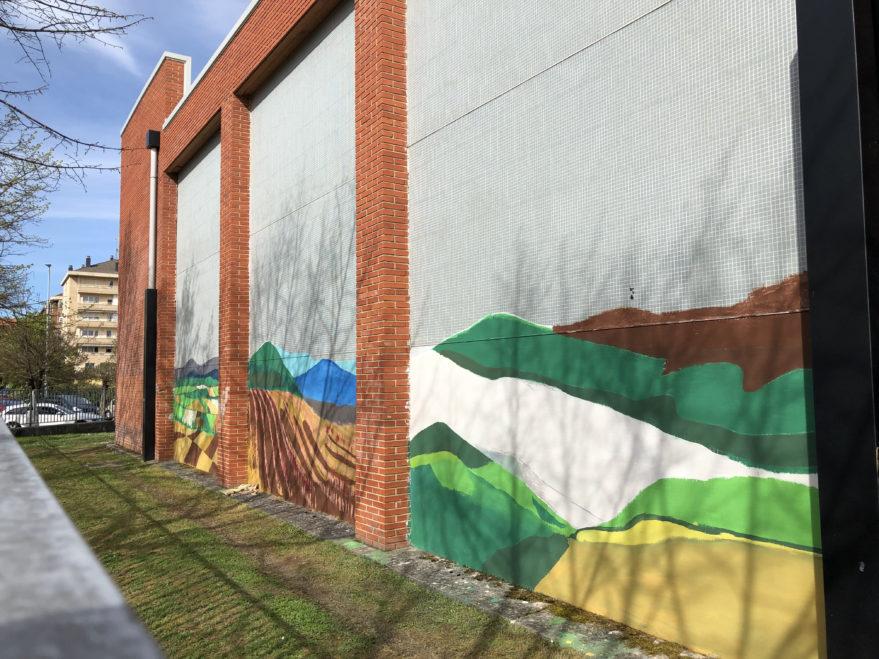 mural colegio san martin