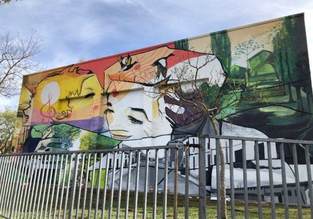 San Martín prepara su mural más participativo